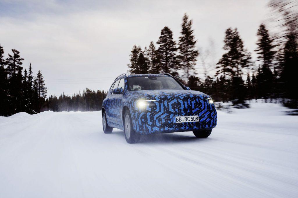 EQB Mercedes elektrisch offensief