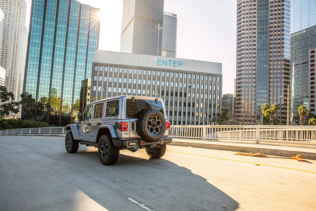 Jeep Wrangler 4xe First Edition plug-in hybride