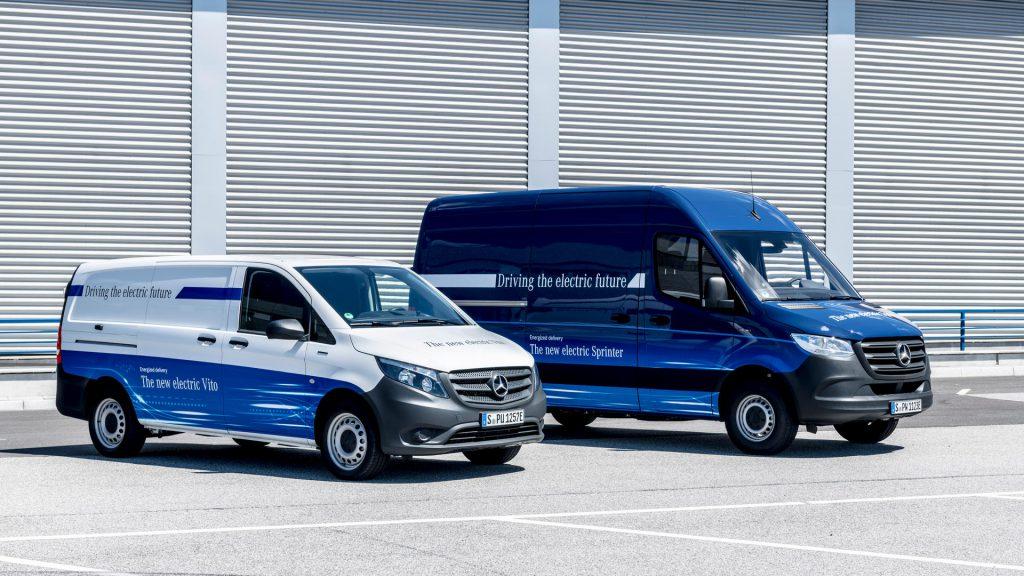 Mercedes-Benz eSprinter en eVito