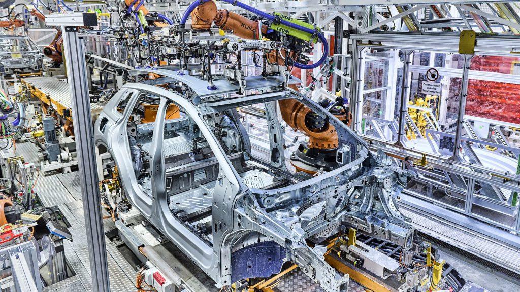 productie Audi Q4 e-tron Zwickau