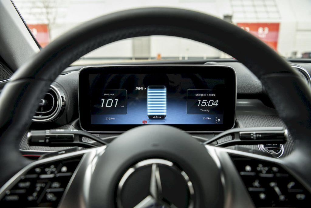 Mercedes C-Klasse plug-in hybrid