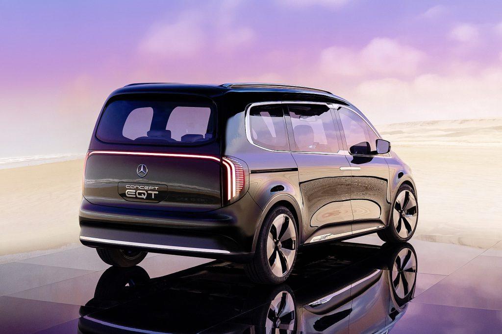 Mercedes Concept EQT achterzijde