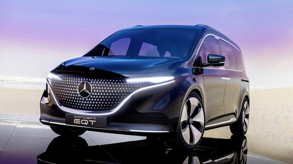 Mercedes Concept EQT voorzijde