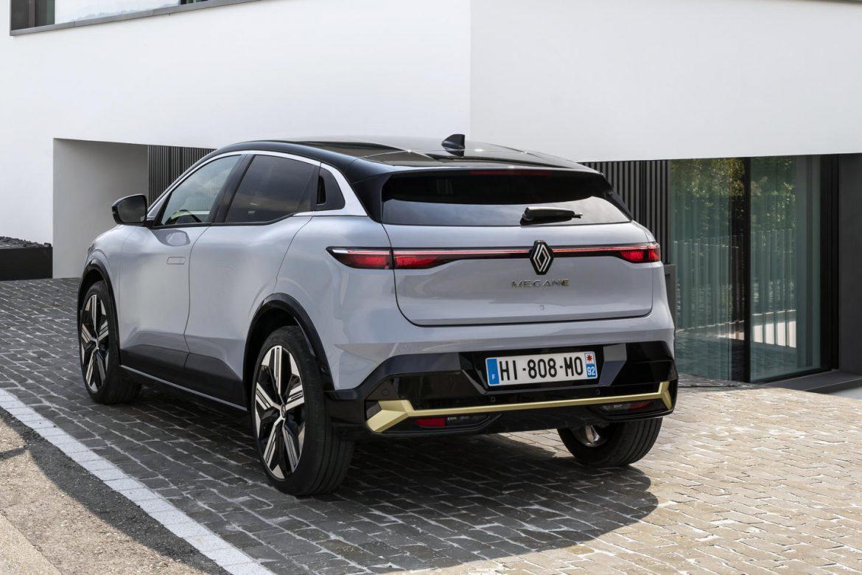 nieuwe Renault Mégane E-tech Electric